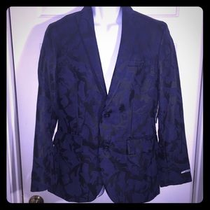 INC Night Out Navy Slim fit Men's Jacket